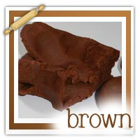 Brown playdough activities