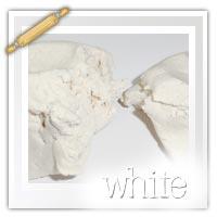 White themed playdough activity ideas