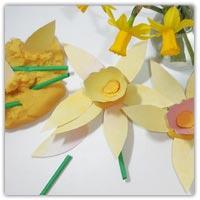 Daffodil playdough