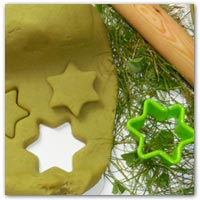 Grass dye playdough recipe