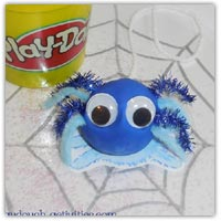 Incy Wincy spider playdough printables