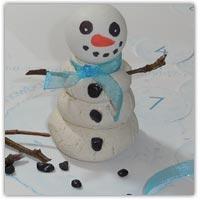 ping pong ball snowmen playodough activity