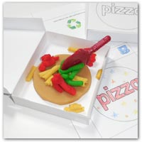 Pizza playdough