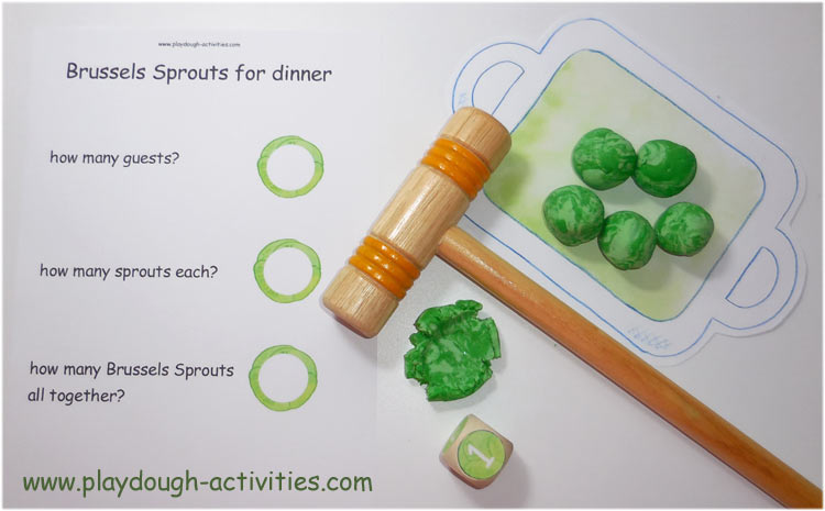Work together to save the unsquashed sprouts and reach the number needed to serve dinner to the guests ..