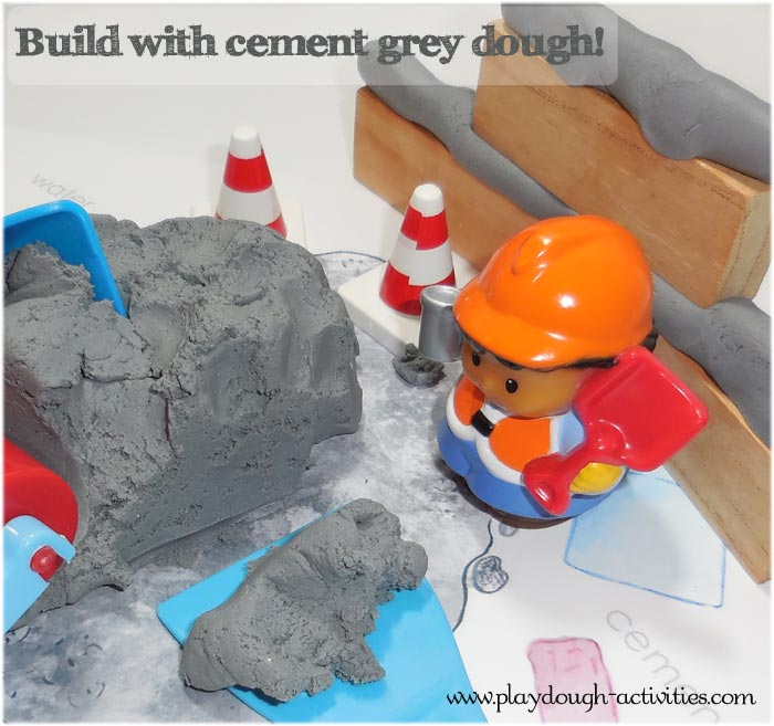 What to use for playdough cement ..