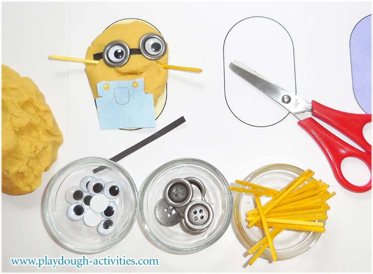 Minions playdough