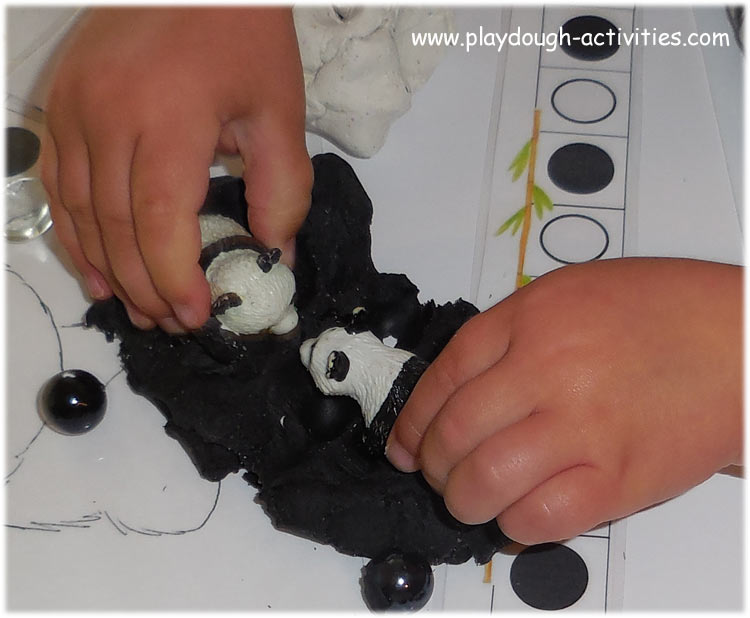 Playdough ideas for fine motor skills