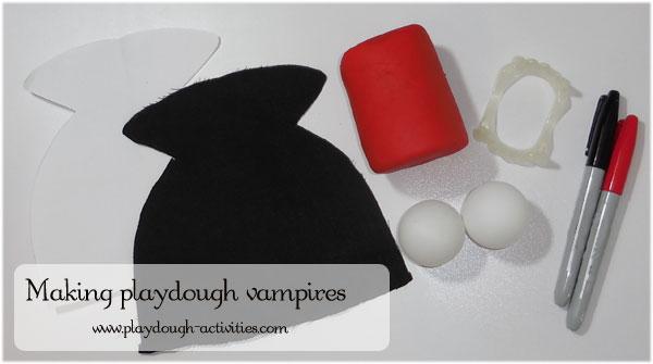 Resources to make playdough Vampires