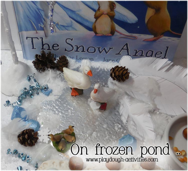 Small world role play- winter white activity