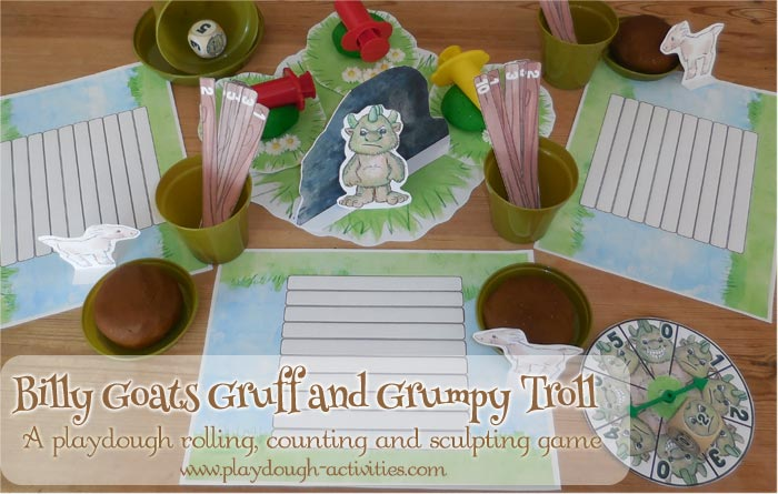 Grumpy Troll and the Billy Goats Gruff