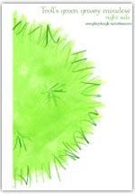 2. half of Troll's green grass meadow