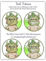 Troll tokens - game coins