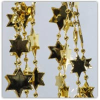 Buygold star beaded garlands on Amazon.co.uk