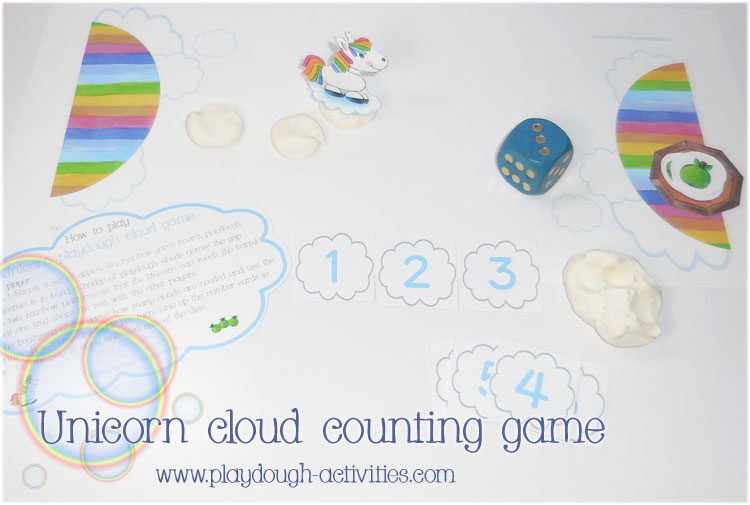 Unicorn cloud counting game