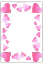 Valentine's day playdough heart mat - sculpting activity sheet