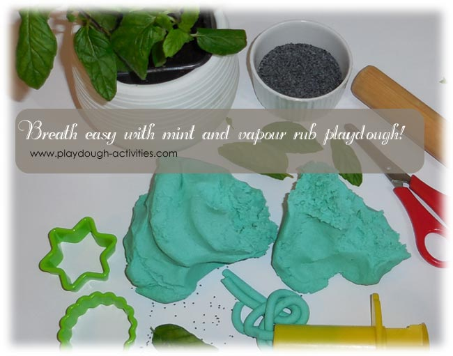 Vapour rub playdough recipe