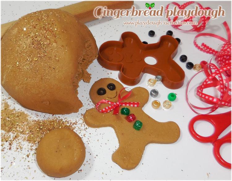 Gingerbread playdough activity ideas