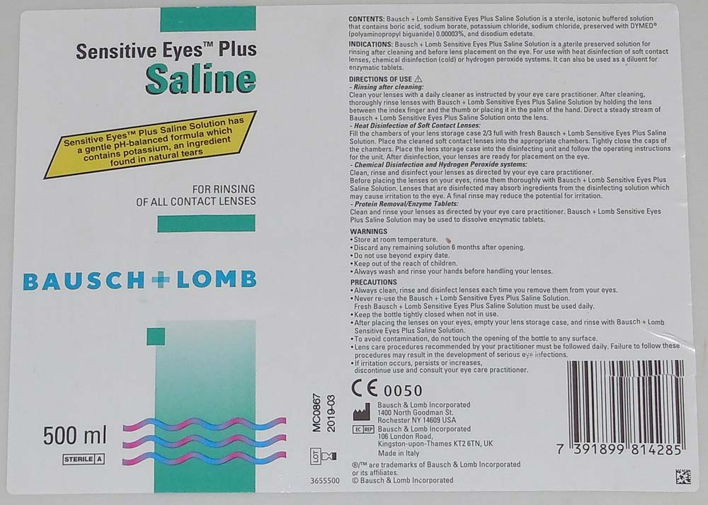 Contact lens solution - ingredients that will make slime
