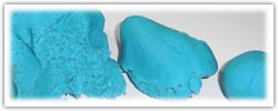 Blue themed playdough activities