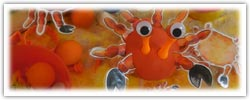 Clawsome crabs playdough activity