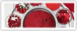 Cranberry playdough