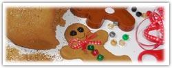 Gingerbread playdough recipe and gift bag printable