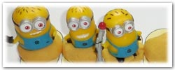 Despicable Me's Minions playdough activities