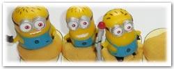 Despicable Me's Minions playdough activities