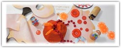 Superhero playdough - orange cape volcano