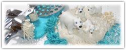 PLaydough mash - arctic winter