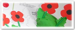 Poppy playdough activities