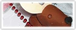 Brown reindeer playdough activities