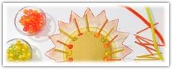 Summer sunshine playdough activity