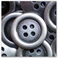 Buy aged metal effect 20mm grey buttons on ebay.co.uk