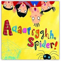 Aaaarrghh spider preschool story book on Amazon.co.uk