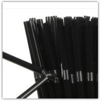 Buy black paper staws on amazon.co.uk