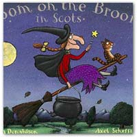 Buy a Scots version of Room on the Broom on amazon.co.uk