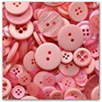 Buy pink craft buttons on amazon.co.uk