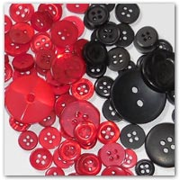 buy red and black buttons amazon.co.uk