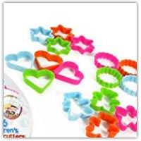 Buy cookie cutters and add to the gift jar