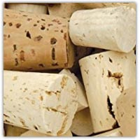 Buy an assorment of cork sizes on amazon.co.uk