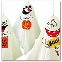 Spooky ghost decorations