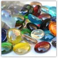 Buy glass pebbles for collage and counting on Amazon.co.uk