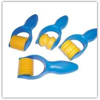 Buy hand rollers that add pattern and texture to the surface of dough on Amazon.co.uk