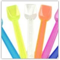 Buy small plastic spoon scoops on Amazon.co.uk