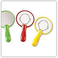 Children's learning mirrors - face outlines