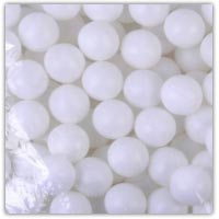 Buy plain white ping pong balls on Amazon.co.uk