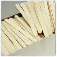 Buy plain wooden craft sticks on Amazon.co.uk