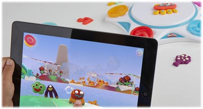 Play-Doh new toy and app Touch to Life