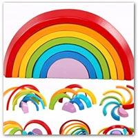 Buy rainbow jigsaw puzzle on amazon.co.uk